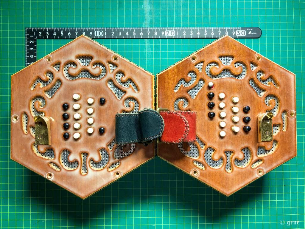 Stagi English Concertina 30ボタン Custom 対面